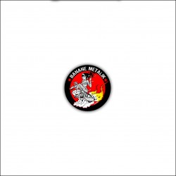 "Badge ""HOT ROD SATANA"""