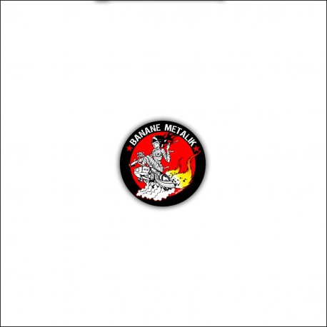"Badge ""HOT ROD SATANA"""