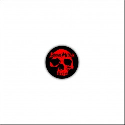 "Badge ""BLOODY SKULL"""