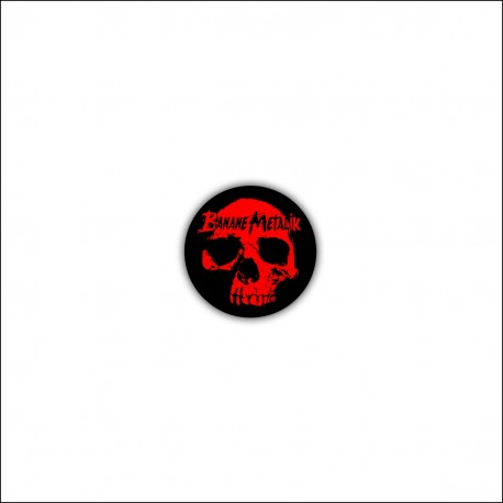 "Button ""BLOODY SKULL"""