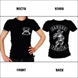 "Tshirt Femme ""SANGRE FAMILIA BAT"""