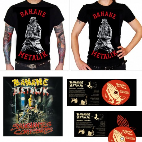 PACKAGE T-SHIRT + CD