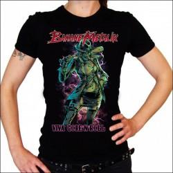 """T-shirt Femme """"VIVA GORE'N'ROLL"""""""