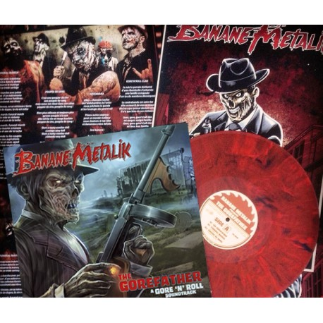 """THE GOREFATHER"" 12"" ( Limited edition zombie blood)"