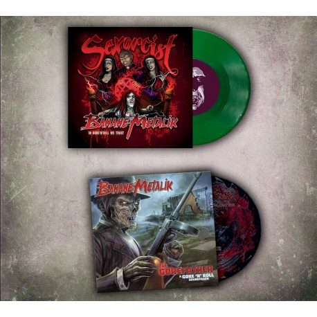 Package soldes : Sexorcist 45 tours + The Gorefather CD