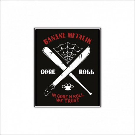 "Patch ""GORE'N'ROLL"""