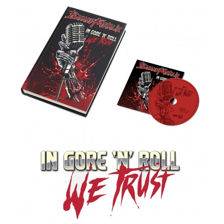 "PACKAGE ARTBOOK + CD ""In gore'n'roll we trust"""