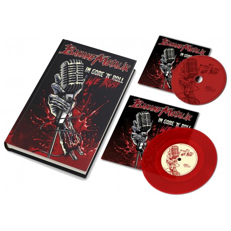"PACKAGE ARTBOOK + CD + VINYL ""In gore'n'roll we trust """